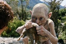 Gollum's special effects were a hit with fans on TheOneRing website. 