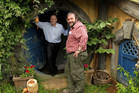 John Key (left) has defended the Warners tax incentives saying Peter Jackson's first Hobbit film alone hired 3000 people. Photo / Alan Gibson
