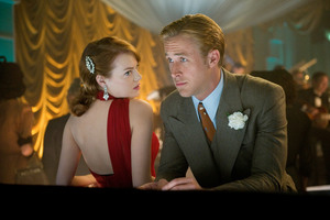 Emma Stone and Ryan Gosling in Gangster Squad. Photo / Supplied
