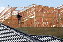Consents worth $1 billion were issued for all building work in November. File photo / Mark Mitchell