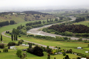 The Tukituki River valley in Central Hawkes Bay. Photo / Paul Taylor