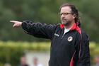 While City were away Waikato FC sent coach Declan Edge packing. Photo / Duncan Brown