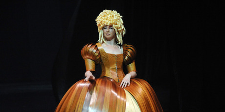 Lady of the Wood by David walker, USA in the Avant Garde Section at the Montana WOW World of WearableArt Awards Show.Photo / File