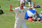 Chris Martin relishes the prospect of getting among the South African batsmen at Port Elizabeth. Photo / Ross Setford
