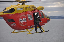 Auckland Rescue Helicopter Trust is successful at raising its own funds. Photo / Supplied 
