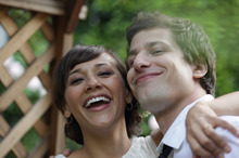 Rashida Jones and Andy Samberg in a scene from Celeste and Jesse Forever. Photo / Supplied