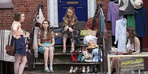 Dunham says she hopes people realise how talented her three co-stars in girls are, regardless of their backgrounds. Photo / Supplied