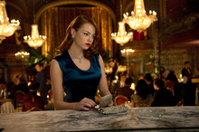 Emma Stone as Grace Faraday in Gangster Squad. Photo / Supplied