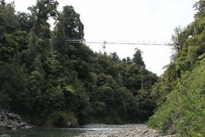 The river level can rise rapidly in the Waiohine Gorge due to localised heavy rain. Photo / File