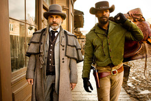 Christoph Waltz and Jamie Foxx in the best picture-nominated Django Unchained. Photo/AP