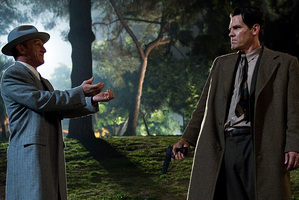 Josh Brolin, right, and Sean Penn in Gangster Squad. Photo/AP