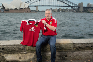 Lions coach Warren Gatland. Photo / Getty Images
