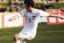 All Whites left back Ian Hogg has joined up with national coach Ricki Herbert after an unsuccessful stint in America's Major League Soccer. Photo / AP 