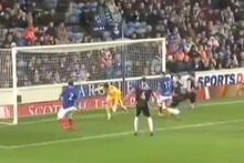 For a goalkeeper, blunders don't come much worse than throwing the ball into your own net. Photo / Youtube.