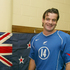 Ryan Nelsen at the launch of All Whites away strip in 2004. Photo / Brett Phibbs