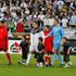 Nelsen leads the All Whites on to the pitch before the 2010 FIFA World Cup soccer qualifier against Bahrain played at Westpac Stadium. photo / Mark Mitchell