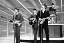 The Beatles, from left, Paul McCartney, George Harrison, John Lennon and Ringo Starr. Photo/AP
