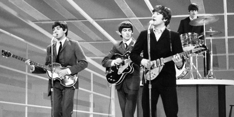 The Beatles, from left, Paul McCartney, George Harrison, John Lennon and Ringo Starr. Photo/AP