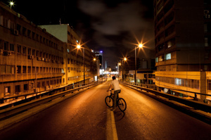 It will be safer to cycle at night with a Revolights bike light kit. Photo / Thinkstock