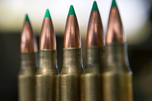 Stolen New Zealand Defence Force ammunition and magazines were also found. Photo / File / Thinkstock