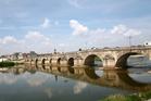 Old stone bridge across the Loire River. Photo / Thinkstock