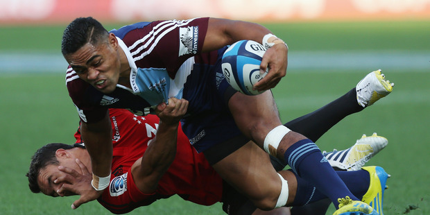 The Crusaders lost some of their pride after being beaten by the Blues in round 3.  Photo / Getty Images
