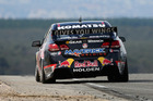 Jamie Whincup puts the hammer down in Perth. Photo / Getty Images