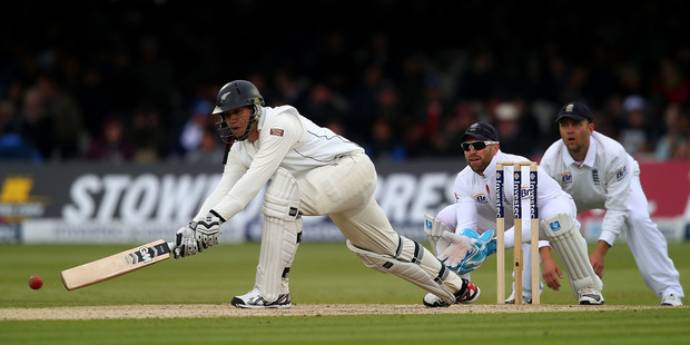 Ross Taylor during day two of the Test between England and New Zealand at Lord's.Photo / Getty