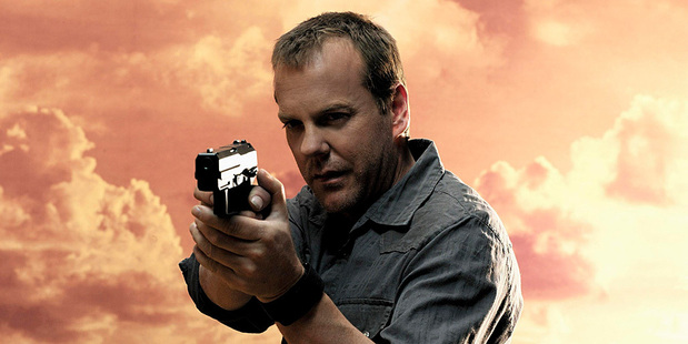 Kiefer Sutherland as Jack Bauer in 24. Photo/supplied