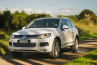 Volkswagen Touareg V6 TDI, photographed at Murawai for Driven Magazine. 26 April 2013 NZ Herald photo by Ted Baghurst.