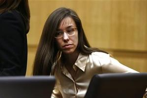 Jodi Arias appears for the sentencing phase of her trial at Maricopa County Superior Court in Phoenix. Photo / AP