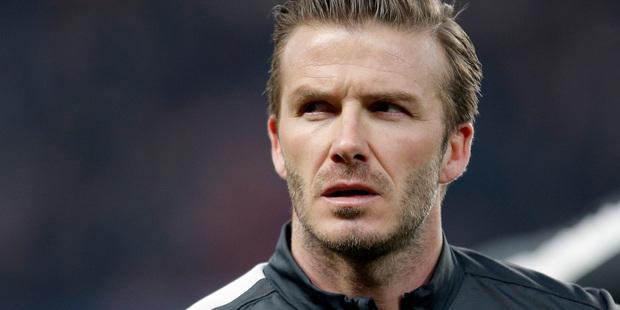 David Beckham is set to retire. Photo / AP
