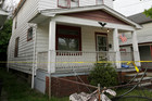 A house where three women escaped in Cleveland. Photo / AP