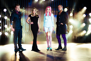 X Factor NZ judges Daniel Bedingfield, Melanie Blatt, Ruby Frost and Stan Walker. Photo / Supplied