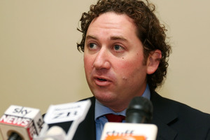 National MP Aaron Gilmore will make his farewell speech in parliament today. Photo / Getty