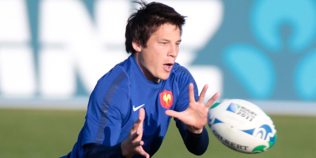 Francois Trinh-Duc was left out of the French squad to tour New Zealand. Photo / Richard Robinson