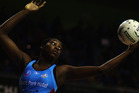 There is one rather big difference between this Steel and last year's side and 1.98m Jamaican shooter Jhaniele Fowler. Photo / Getty Images.