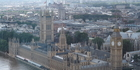  London's Houses of Parliament as seen from the London Eye. Photo / Matt Shallcrass 