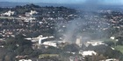 View: Fire at University of Auckland's Epsom campus