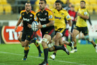 Liam Messam of the Chiefs makes a break during the round 14 Super Rugby match between the Hurricanes and the Chiefs. Photo / Getty Images.