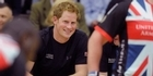 Prince Harry greets servicemen