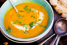 Recipe: Pumpkin and green curry soup