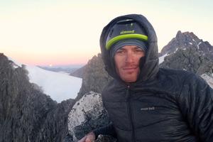 Ben Dare rescued his climbing companion. Photo / Otago Daily Times