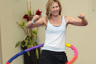 A fitness craze new to New Zealand, powerhooping, provides a good workout. Photo / Doug Sherring