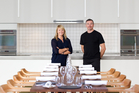Creghan Molloy-Wright and Simon Wright have opened a separate private party room they call The French Kitchen. Photo / Richard Robinson