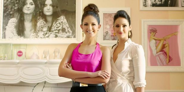 Maggie and Annie Ford Danielson of global cosmetic brand, Benefit. Photo / Supplied