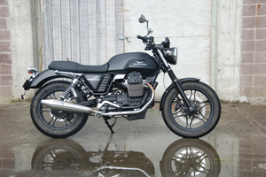 The Moto Guzzi's V7 Stone is priced from $15,990. Pictures / Jacqui Madelin