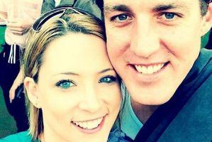 Kristen Schroder and her boyfriend Paul Rossington.  Photo / ABC