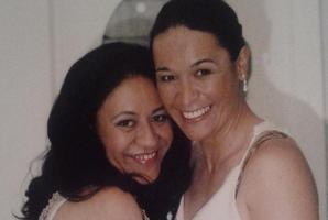 Claudette Hauiti (left) and her partner Nadine Hauiti-Mau. Photo / Supplied