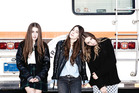 In-demand Californian sisters Haim play Australia this year, with a possible stop-off in New Zealand. Photo / Supplied